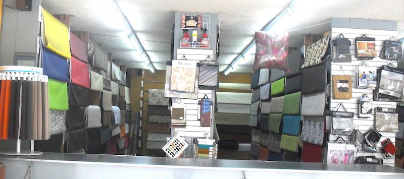 Canal de Miramontes, materiales para la decoracion de telas y textiles